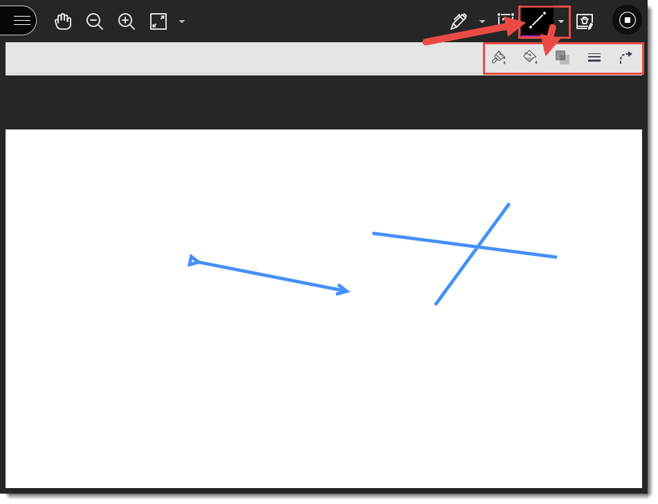 Line functions